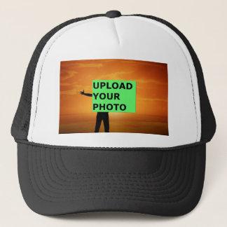 Upload your photo trucker hat