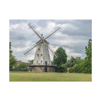 Upminster windmill canvas print