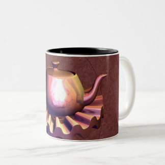 Upon Reflection Two-Tone Coffee Mug