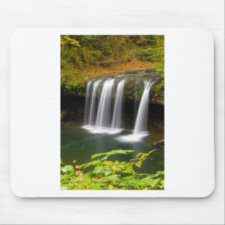 Upper Butte Creek Falls in Autumn Mouse Pad