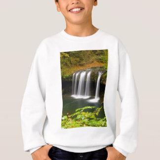Upper Butte Creek Falls in Autumn Sweatshirt