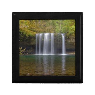 Upper Butte Creek Falls in Fall Season Gift Box