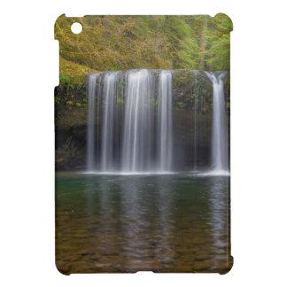 Upper Butte Creek Falls in Fall Season iPad Mini Case