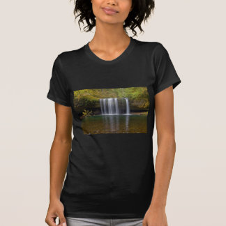 Upper Butte Creek Falls in Fall Season T-Shirt