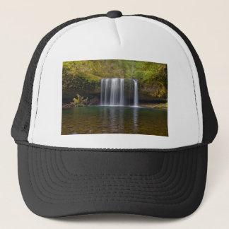 Upper Butte Creek Falls in Fall Season Trucker Hat