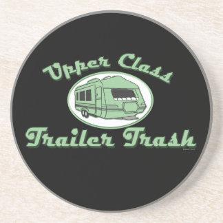 Upper Class Trailer Trash Beverage Coaster