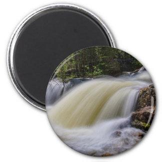 Upper Copeland Falls 6 Cm Round Magnet