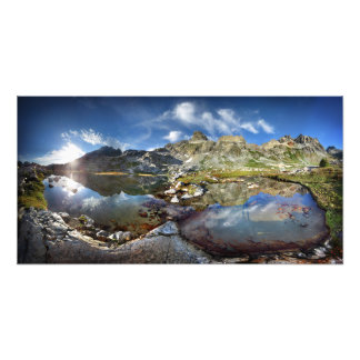 Upper Ediza Lake Basin under the Minarets - Sierra Photo Print
