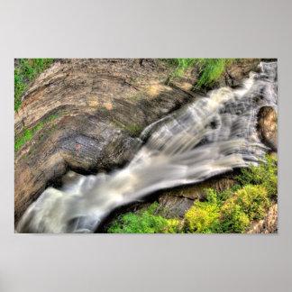 Upper Falls, Taughannock State Park, New York Poster