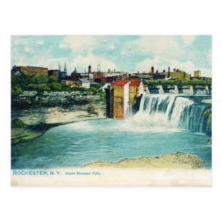 Upper Genesee Falls Postcard