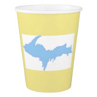 Upper Peninsula Michigan Paper Cup