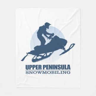 Upper Peninsula (SM) Fleece Blanket