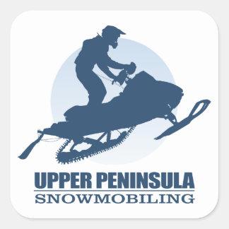 Upper Peninsula (SM) Square Sticker