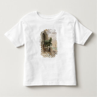 Upper portion of the facade of St. Mark's Church, Toddler T-Shirt