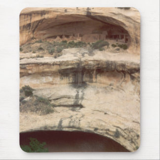 Upper Rock Dwelling at Mesa Verde Mouse Pad