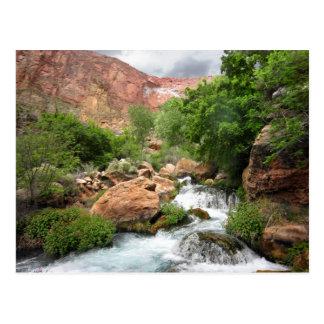 Upper Tapeats Creek Waterfall - Grand Canyon Postcard