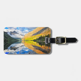 Upper Two Medicine Lake at Sunrise Luggage Tag