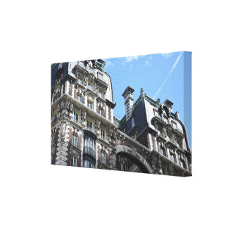 Upper West Side Apartment Building New York City Canvas Print