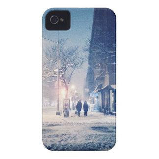 Upper West Side Winter Night iPhone 4 Case-Mate Case