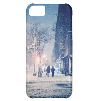 Upper West Side Winter Night iPhone 5C Case