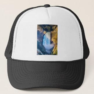 Upper Yellowstone Falls Trucker Hat