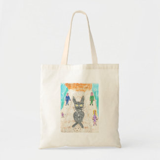 Uppity Goes to Town Tote Bags