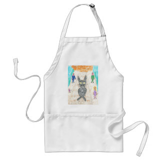 Uppity Goes to Town Standard Apron