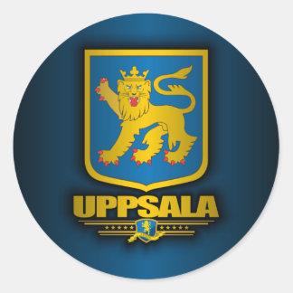 Uppsala Classic Round Sticker