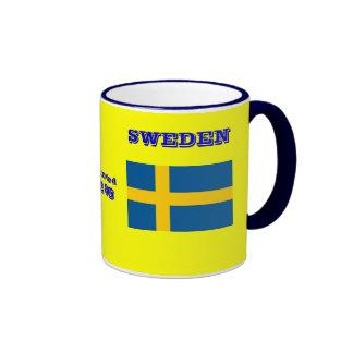 Uppsala Sweden Coat of Arms Mug
