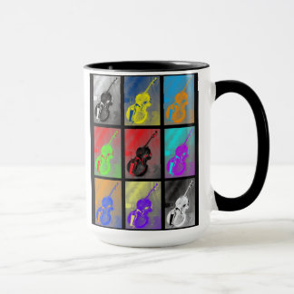 Upright Bass and Scroll Mug BASS