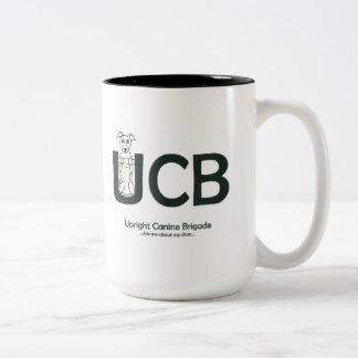 Upright Canine Brigade Mug