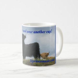 Upriver Music Coffee Mug