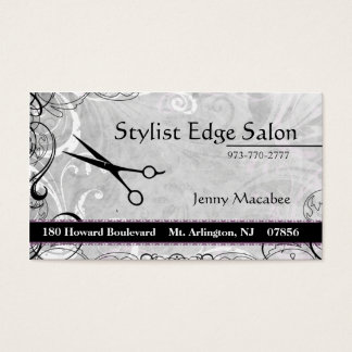 Upscale  Salon Appointment Business Card