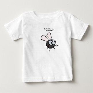 Upset Mosquito Cartoon Baby T-Shirt
