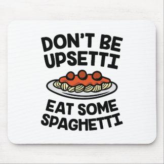Upsetti Spaghetti Mouse Pad