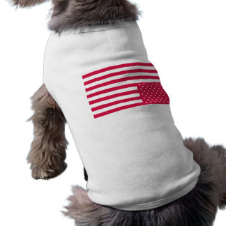 Upside Down American Flag - Red Dog Shirt