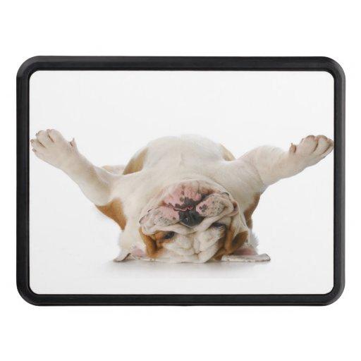 "Upside Down Bulldog Trailer Hitch 2"" Trailer Hitch Covers"