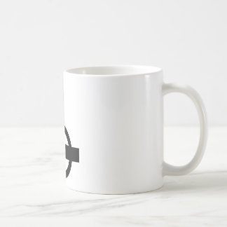 Upside Down Cross Coffee Mug