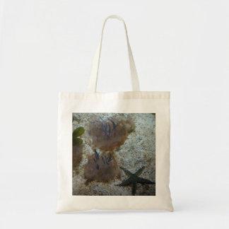 Upside-down Jellyfish Tote Bag