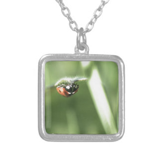 Upside down Ladybird Pendant