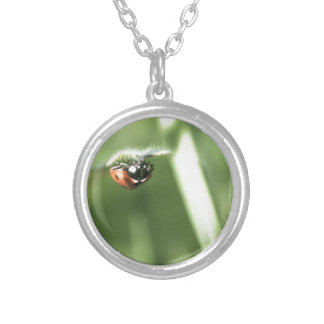 Upside down Ladybird Personalized Necklace