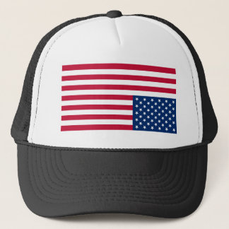 Upside Down USA Flag (Distress Signal) Trucker Hat