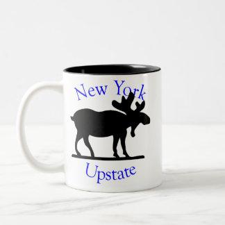 Upstate New York Moose Mug