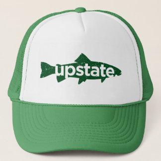 Upstate trout trucker hat