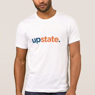 upstate. Vintage Cuse colors. T-Shirt