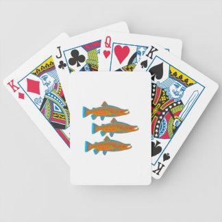 Upstream Alaska Bicycle Playing Cards