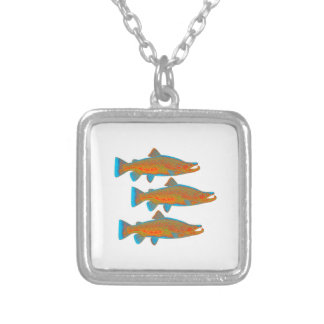 Upstream Alaska Silver Plated Necklace