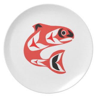 Upstream Swim Plate