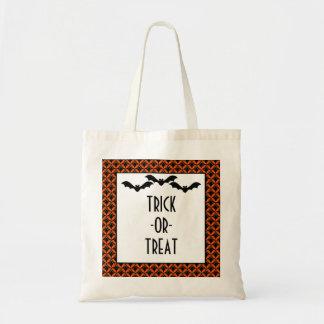 Uptown Glam Bats Halloween Trick or Treat Bag
