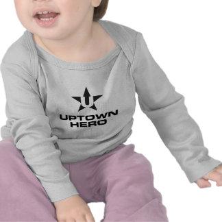 Uptown Hero logo T-shirts